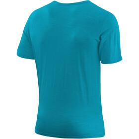 Löffler Merino CF Camiseta Hombre, azul